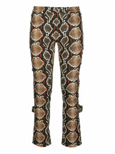 Burberry Python Print Jeans