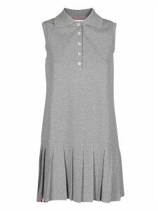 Thom Browne Pleated Polo Dress