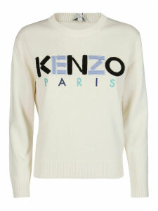 Kenzo Cream Cotton Sweatshirt
