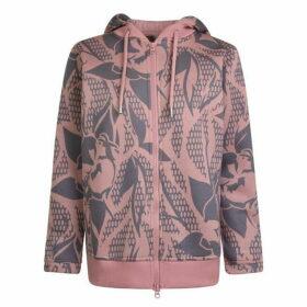 adidas by Stella McCartney Essentials Printed Hooded Sweatshirt