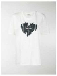 Saint Laurent Heart Logo T-shirt