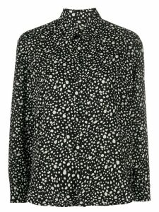 Saint Laurent Button Up Animal Print Shirt