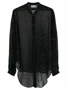 Saint Laurent Version S50h Sheer Blouse