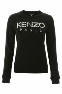 Kenzo Ikat Logo Patch Sweatshirt