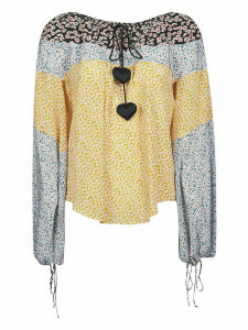Lanvin All-over Floral Printed Blouse