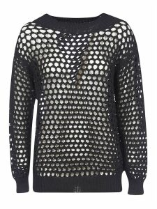 Dsquared2 See-through Meshed Pullover