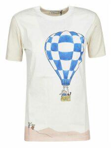 Lanvin Parachute Printed Top