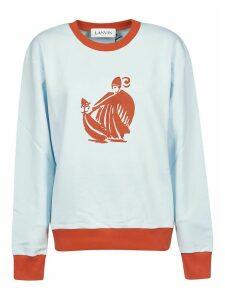 Lanvin Rib Printed Sweatshirt