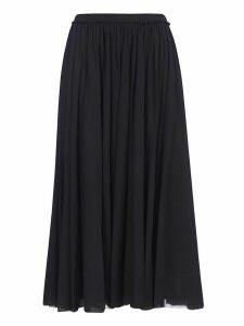 Jil Sander Pleated Long Skirt