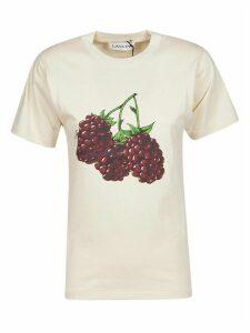 Lanvin Grape Printed T-shirt