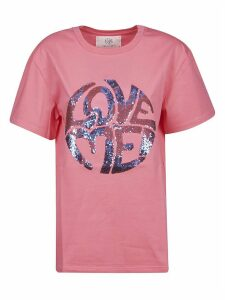 Alberta Ferretti Love Me Sequined T-shirt
