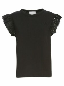 Philosophy di Lorenzo Serafini T-shirt W/s Crew Neck W/lace
