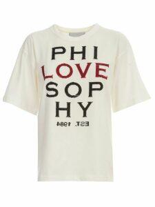 Philosophy di Lorenzo Serafini T-shirt S/s Crew Neck Love