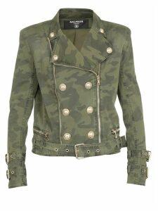 Balmain Cotton Nail Jacket