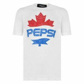 DSquared x Pepsi DSQ Pepsi Logo Tee Ld02