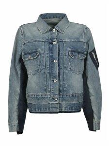 Sacai Denim Buttoned Jacket