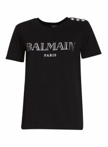 Balmain T-shirt With Logo Print
