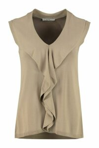 Max Mara Knitted Viscosa-blend Top