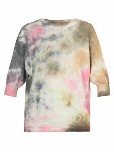 MSGM Tie & dye Sweater