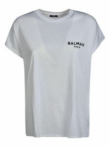 Balmain Chest Logo Print T-shirt