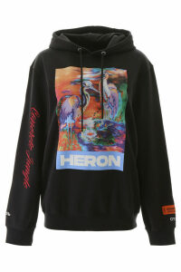 HERON PRESTON Heron Embroidery Hoodie
