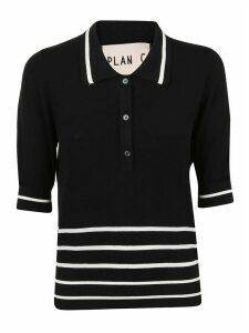 Plan C Polo Manica 3/4