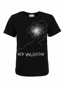 RED Valentino T-shirt Stampa