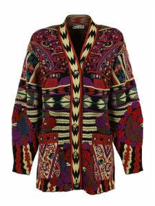 Etro Cardi-coat Ibisco