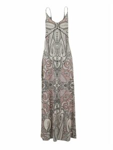 Etro Paisley Print Sleeveless Long Dress