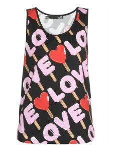 Love Moschino Cotton Top