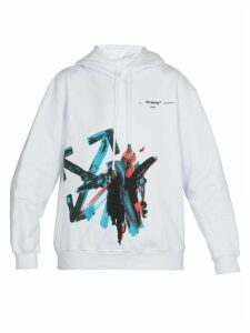 Off-White Brush Arrow Oversize Hoodie