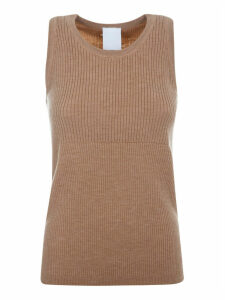 Victoria Beckham Classic Ribbed Tank Top