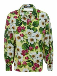 Dolce & Gabbana All-over Floral Print Shirt