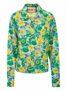 Plan C Garden Popeline Shirt