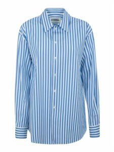 Jil Sander Striped Oversize Shirt
