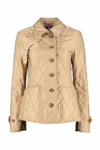 Burberry Quilted Jacket With Buttons