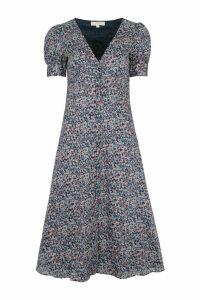 MICHAEL Michael Kors Patterned Cotton Dress