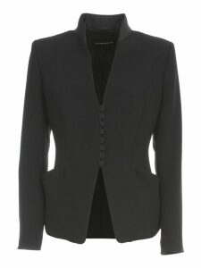 Emporio Armani Flared Jacket W/buttons
