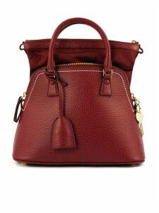 Maison Margiela 5ac Headbang In Red Leather