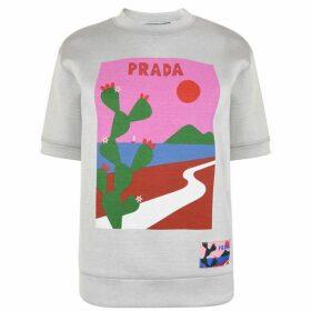 Prada Linea Rossa Short Sleeve Sweatshirt