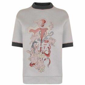 Prada Linea Rossa Rabbit Logo Sweatshirt