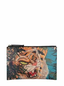 Dsquared2 Tiger Print Pouch
