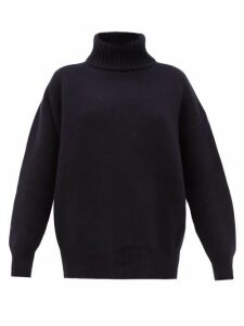 Extreme Cashmere - No. 20 Oversize Xtra Stretch-cashmere Sweater - Womens - Navy