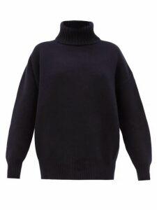 Extreme Cashmere - No. 20 Oversize Xtra Stretch-cashmere Sweater - Womens - Navy