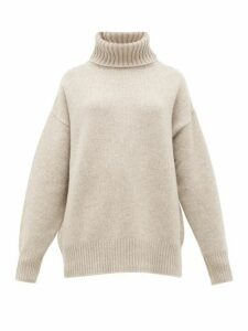 Extreme Cashmere - No. 20 Oversize Xtra Stretch-cashmere Sweater - Womens - Beige