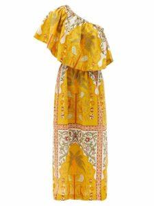 Eskandar - Two-collar Cotton-poplin Shirt - Womens - Navy