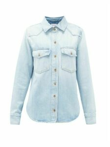 Frame - Heritage Denim Shirt - Womens - Light Denim