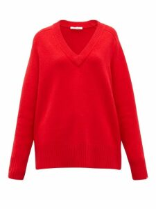 Extreme Cashmere - No.124 Vital Stretch-cashmere Sweater - Womens - Red