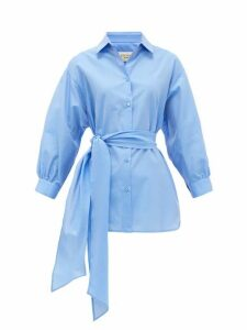 Weekend Max Mara - Danilo Shirt - Womens - Mid Blue