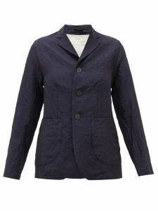 Toogood - The Metalworker Single-breasted Linen Jacket - Womens - Navy